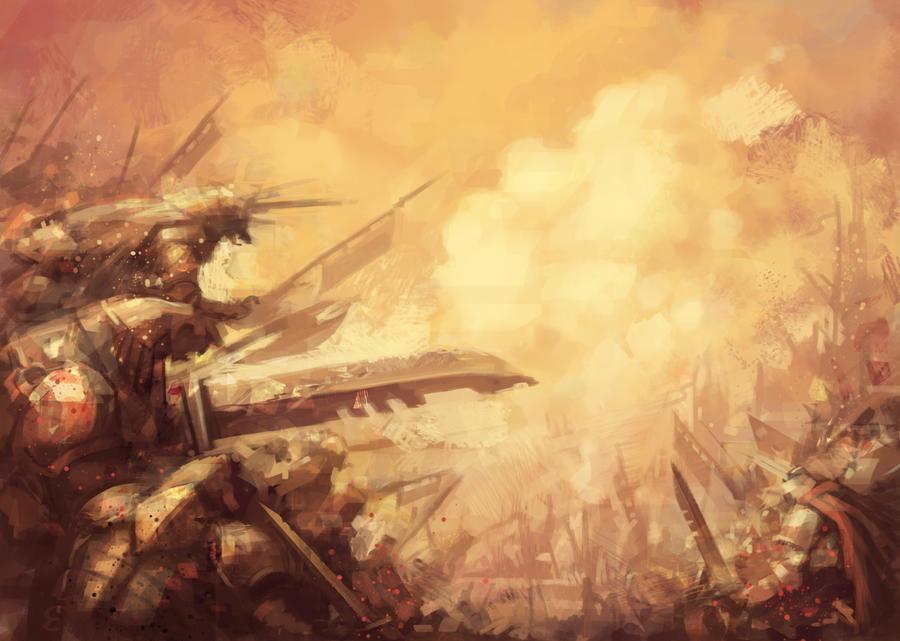 speed - nameless horde by SnakeToast