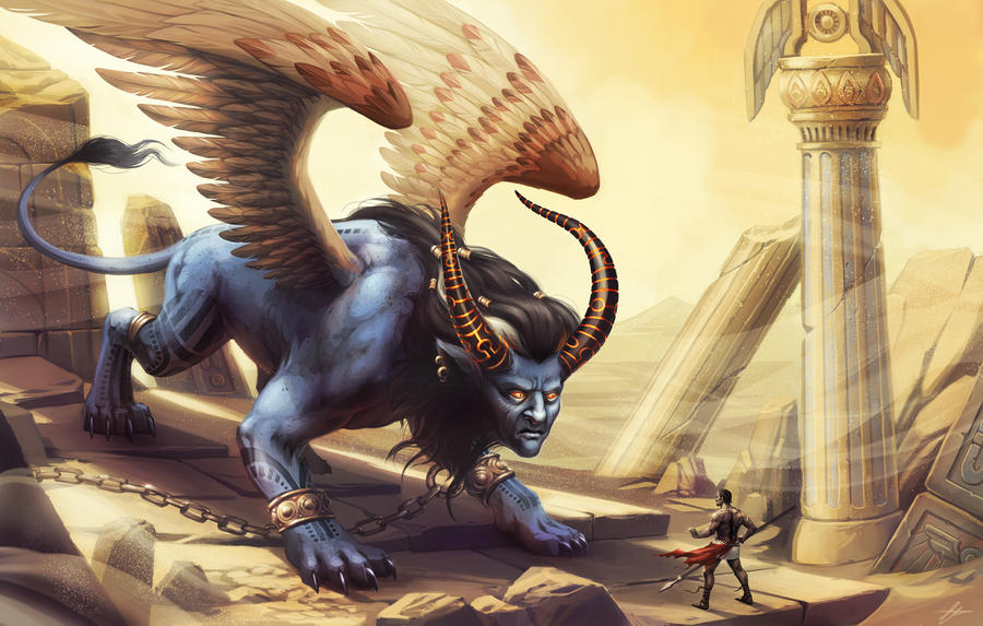 Sphynx by SnakeToast