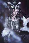 Skulls Rococo Jacket Dress