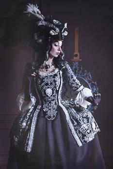 Gothic Rococo Jacket Dress