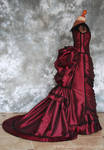 Victorian Vampire Ball Gown with Train by Alice-Corsets
