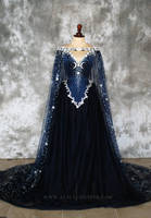 Nightgodess Wedding Gown by Alice Corsets