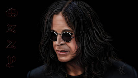 Painting Ozzy by Ineer