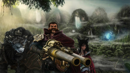 League of Legends drawing by Ineer