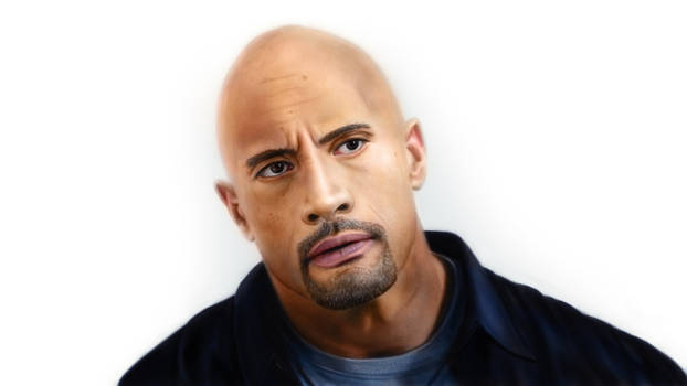 Drawing - The Rock