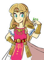 Zelda by GreenApple715