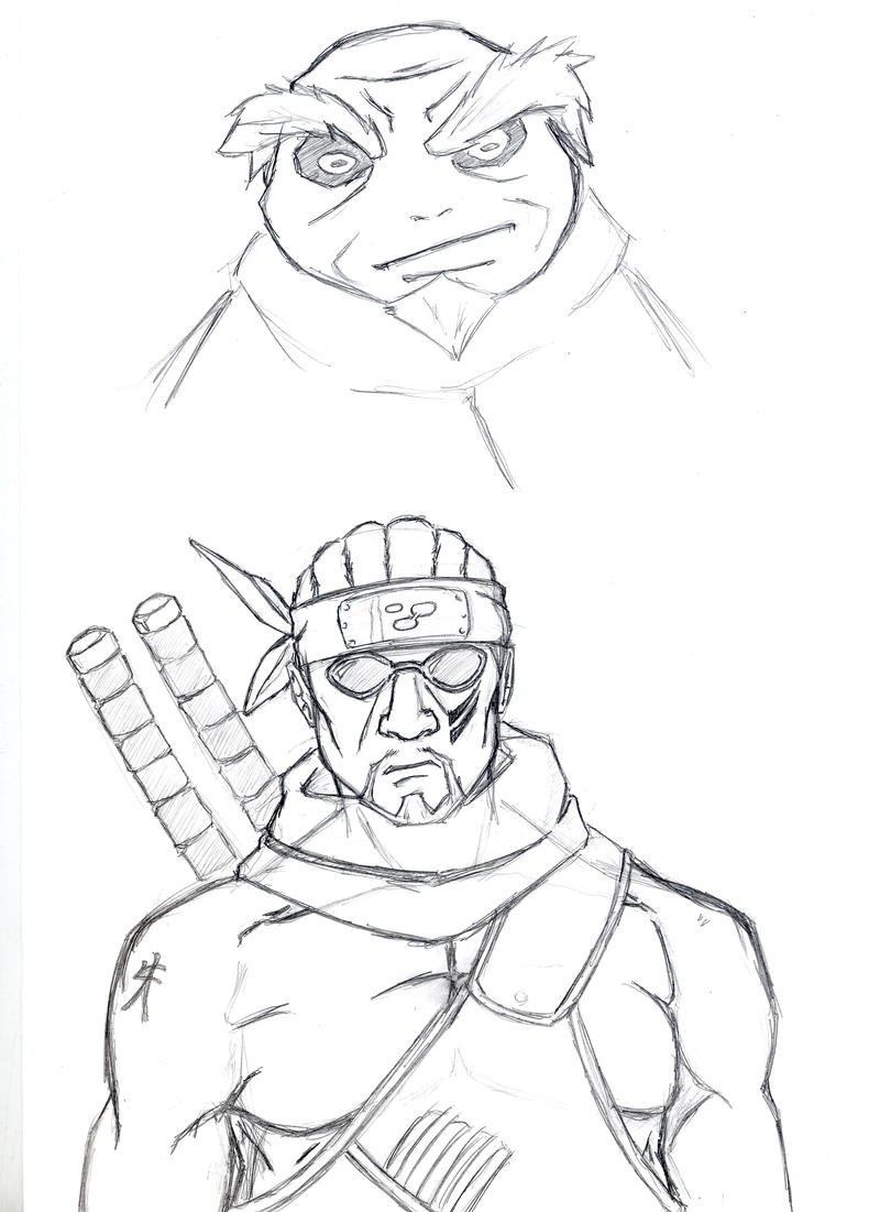 Naruto characters by philliphawkins on DeviantArt