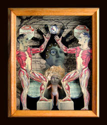 Mixed Media Assemblage 14 by GregPDX