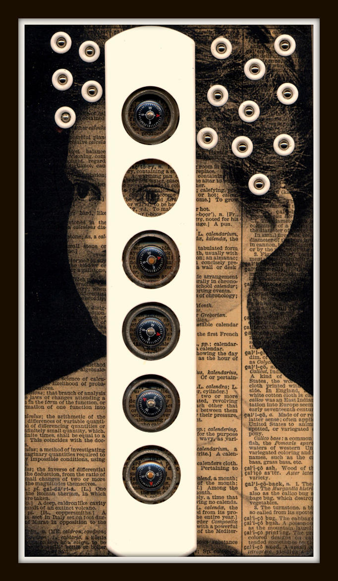 Mixed Media Collage 123 by GregPDX