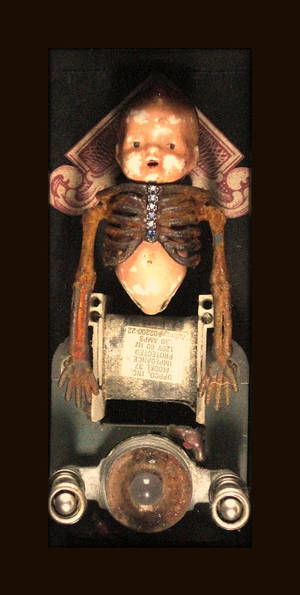 Mixed Media Assemblage 177