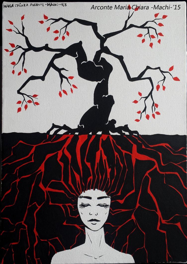Radici 25x35 -Roots 25x35tree by MaChI83
