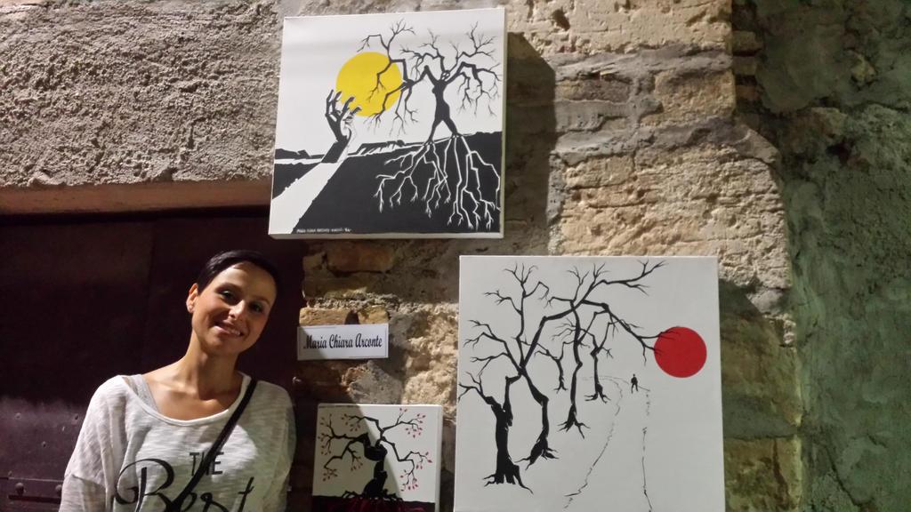 Io E Miei Quadri- Me and my works by MaChI83
