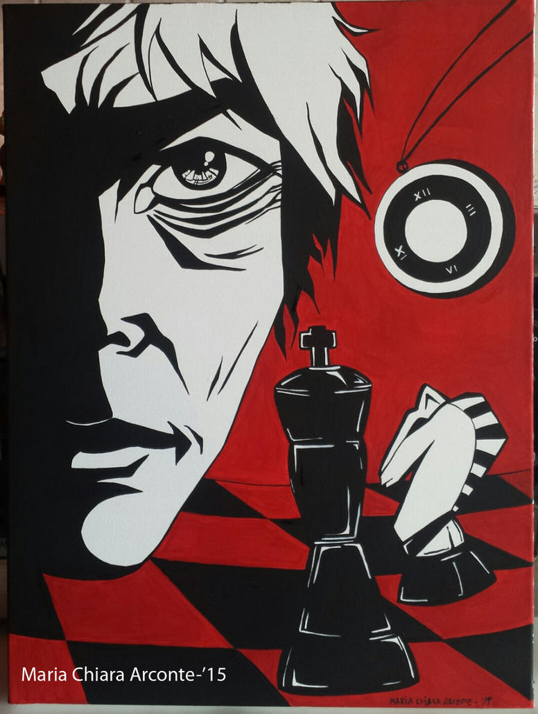 Chess 40x30 acrylic on canvas by MaChI83