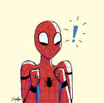 Excited Spidey