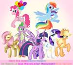 Big My Little Pony Collab by Imaplatypus