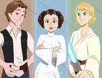 OG Star Wars Gang by Imaplatypus