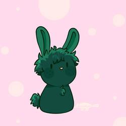 Smol Green Bunny Boy