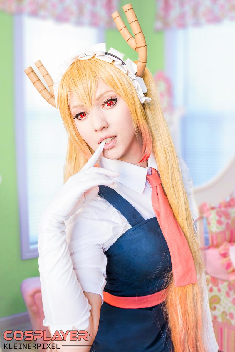 dragon maid kobayashis cosplay Miss