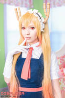 Tohru Cosplay ( Miss Kobayashi's Dragon Maid) by KleinerPixel