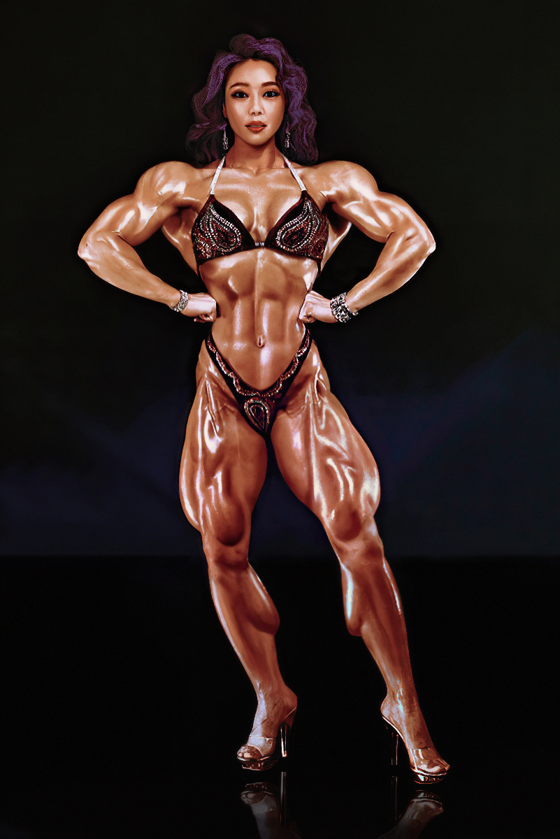 Asian Female Bodybuilder by mattemuscle on DeviantArt