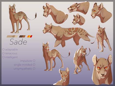 Sade Character Sheet