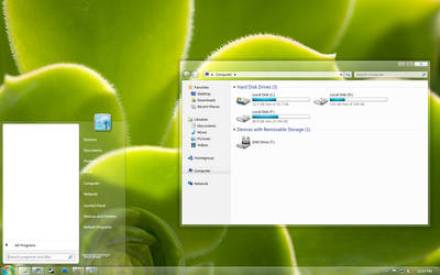 Windows 7 - Basic WIP i02 by BoneyardBrew