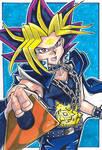 Fan Art - The Pharaoh from Yu-Gi-Oh! by RasglowReborn