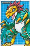 Partner Digimon Challenge 02 - Rufflemon by RasglowReborn