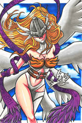 Fan Art - Angewomon from Digimon by RasglowReborn