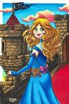 Princess Olivia by RasglowReborn