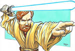 Obi Wan Kenobi from Star Wars by RasglowReborn
