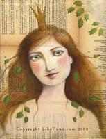 Oak Spirit by Neyrelle