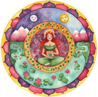 Creatrix Goddess Mandala