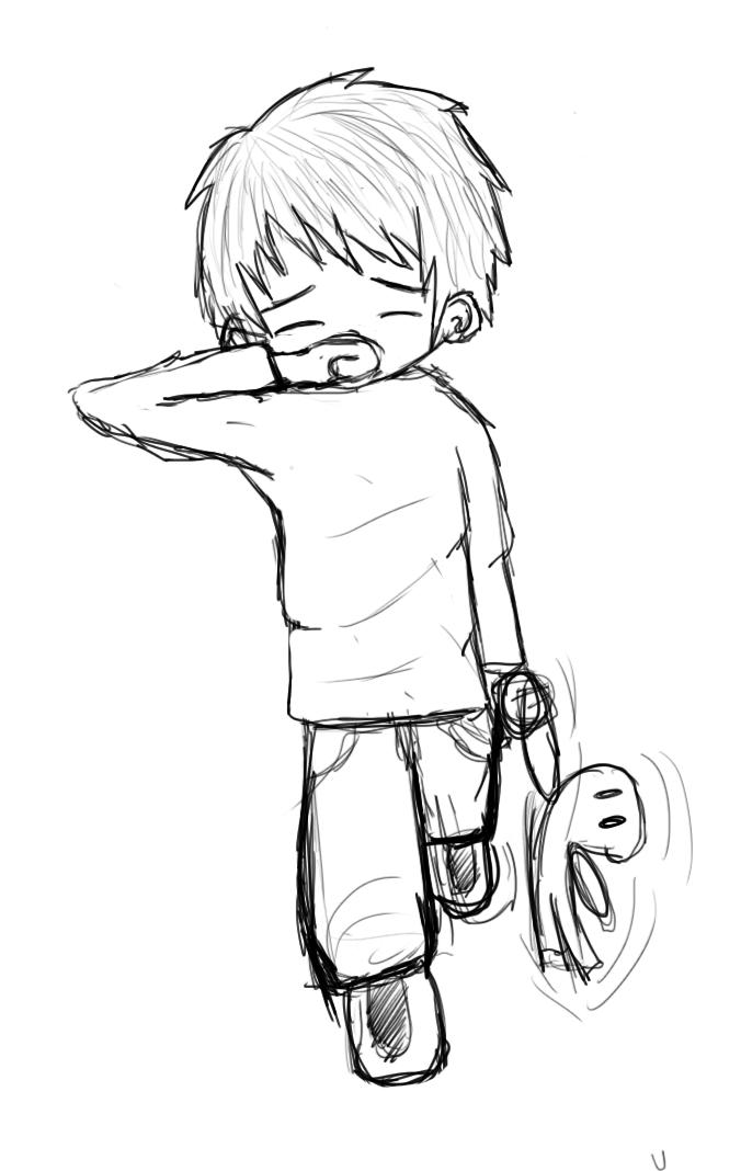 Sad Face Boy Drawing | www.imgkid.com - The Image Kid Has It!
