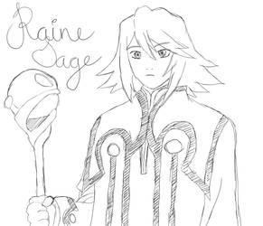 Raine Sage redone by afoxen