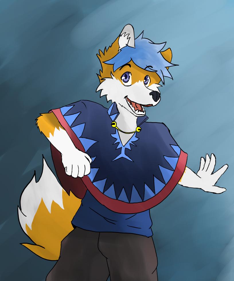Poncho Fox by afoxen