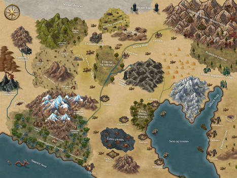 RPG campaign map