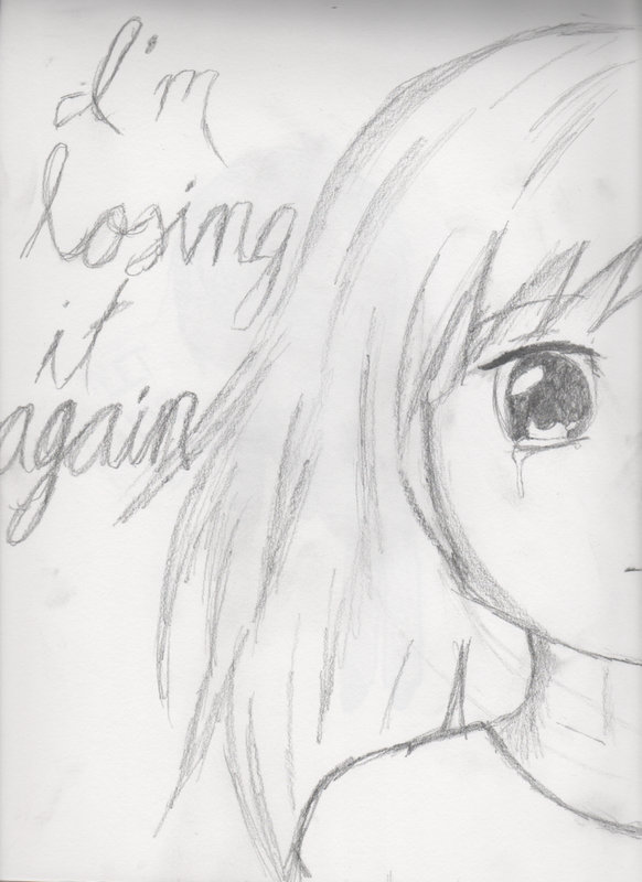 Depression Drawing By XXxVOCALOIDxXx