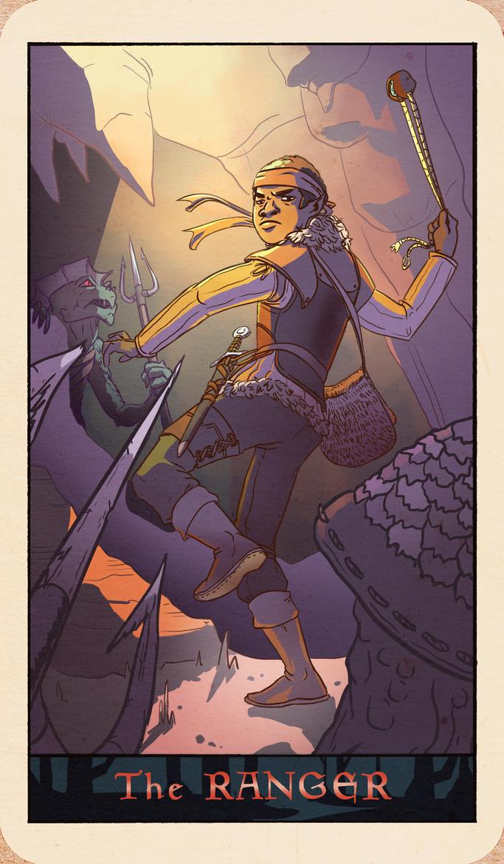 Strangers and Dragons Ranger by mardukreport