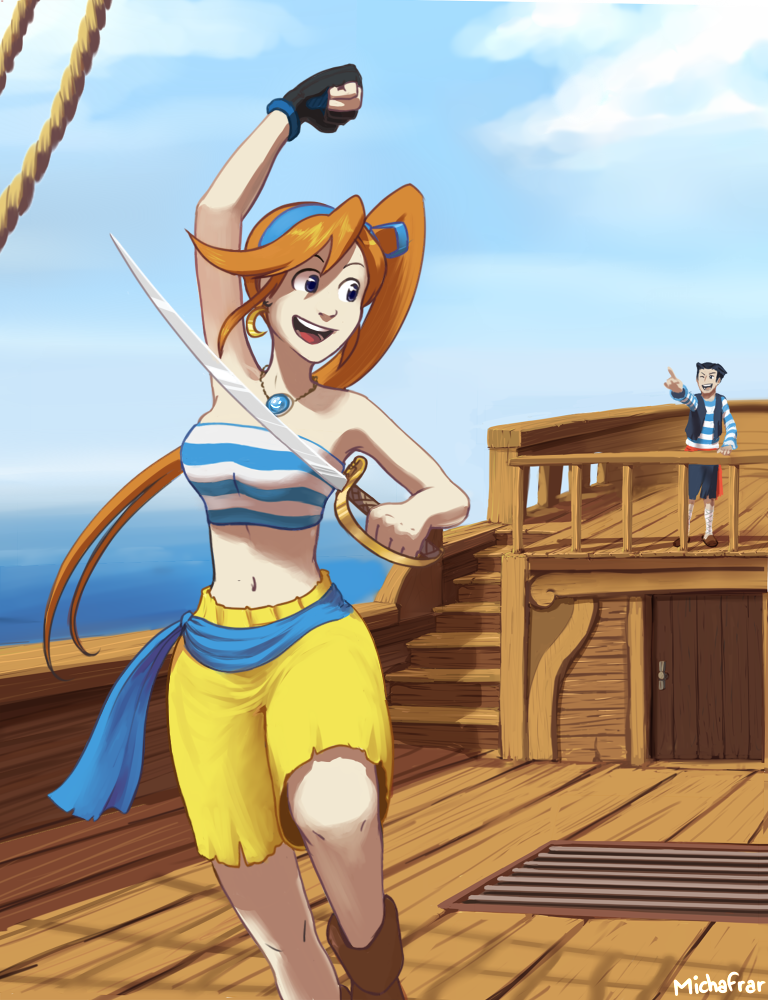 Pirate Turnabout by Frario
