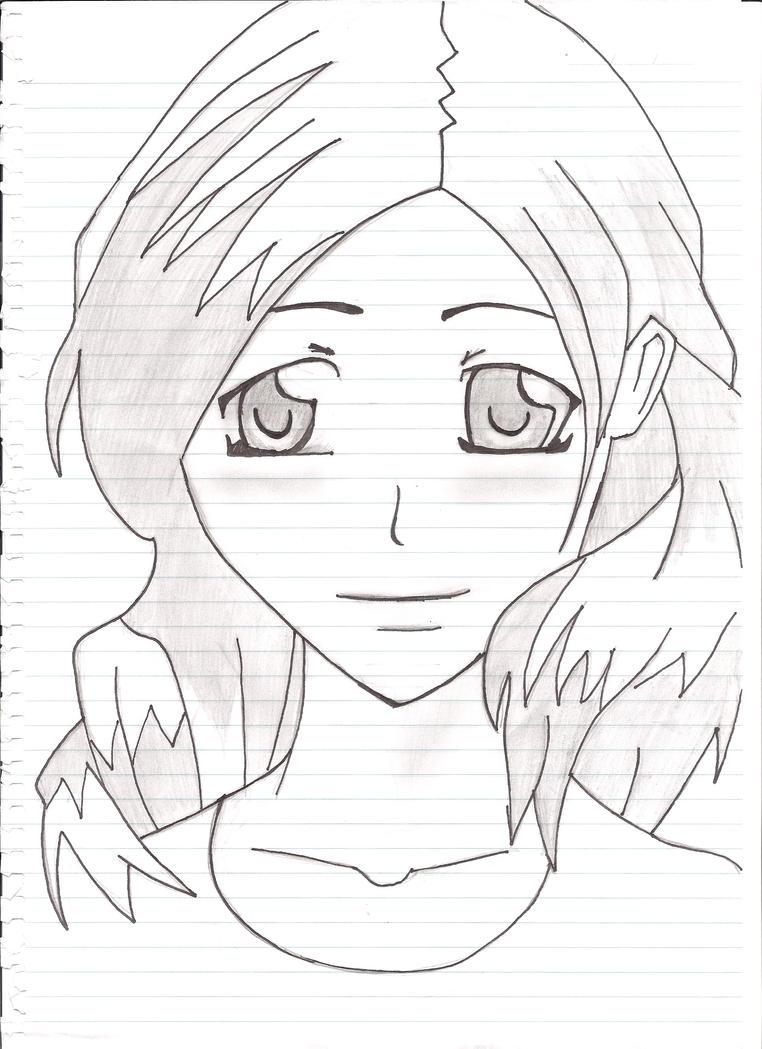 Anime Teen girl by ~Palidoggs on deviantART