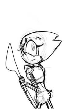 Pearl The Headgehog