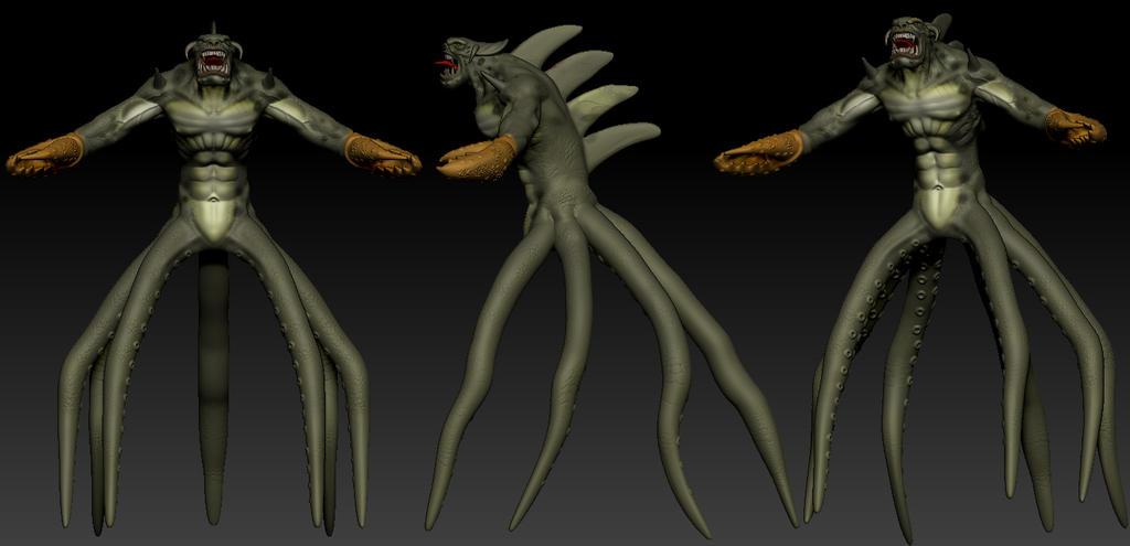 poseidon vs the kraken - photo #8