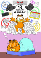 Garfield's nightmare by PicassoProtege