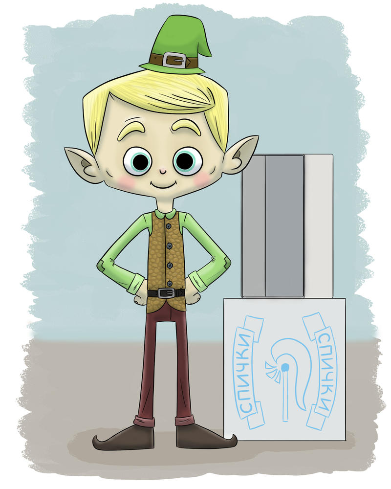 Elf by PicassoProtege
