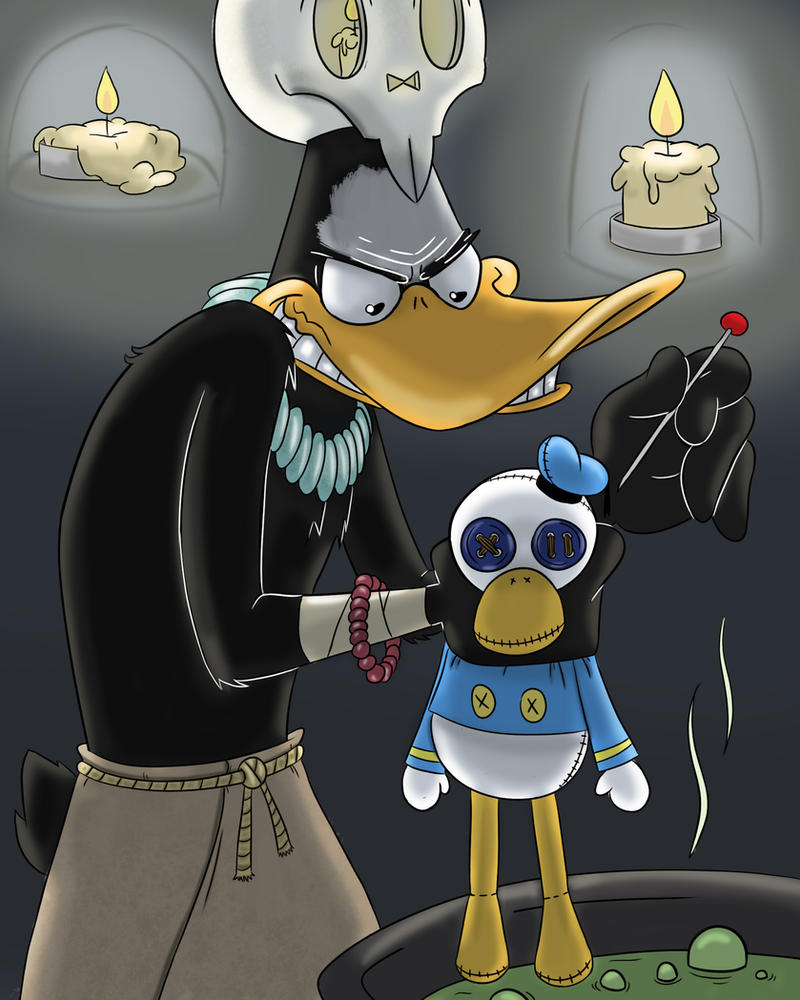 Daffy Duck by PicassoProtege