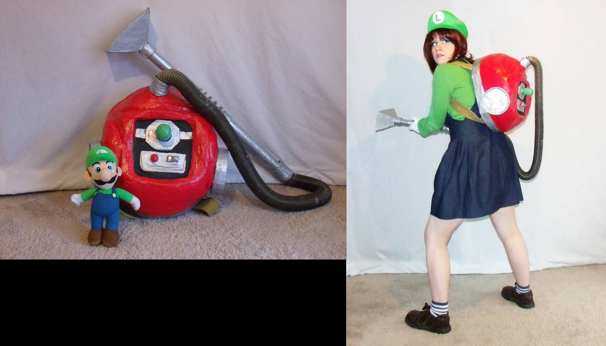 Poltergust 5000 By Becos We Can Cosplay On Deviantart