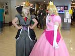 Shadow Queen and Peach 'Kawa Kon 2014'