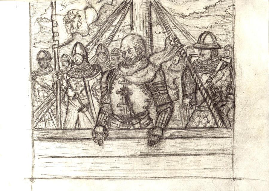 Stannis 'Prepare to land!' by Thinkerman