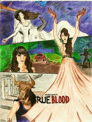 True Blood: Maryann by theartofsleepingwith